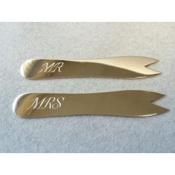 Sterling Silver Chip Fork