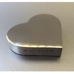 Sterling Silver Paperweight Heart from SilverpureSilver
