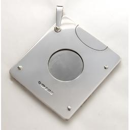 Silver Square Cigar Cutter