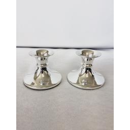 Mini Cabaret pair of Candlesticks