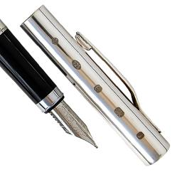 Joe Mason Sterling Silver Fountain Pen