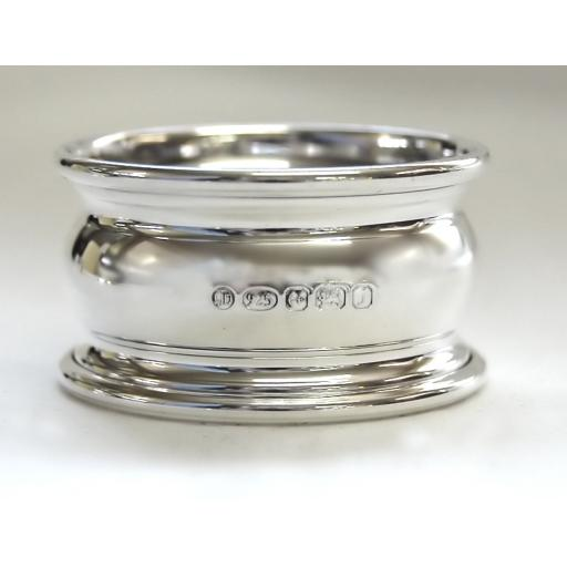 Sterling Silver Georgian Napkin Ring