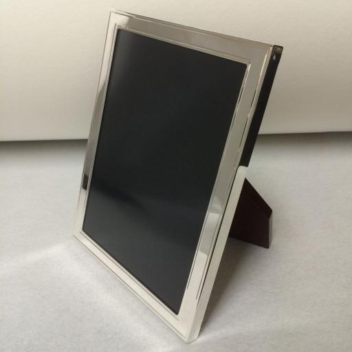 Sterling Silver Photo Frames with Outline Engine Turned Pattern