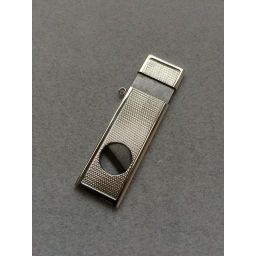 Silver Oblong Cigar Cutter