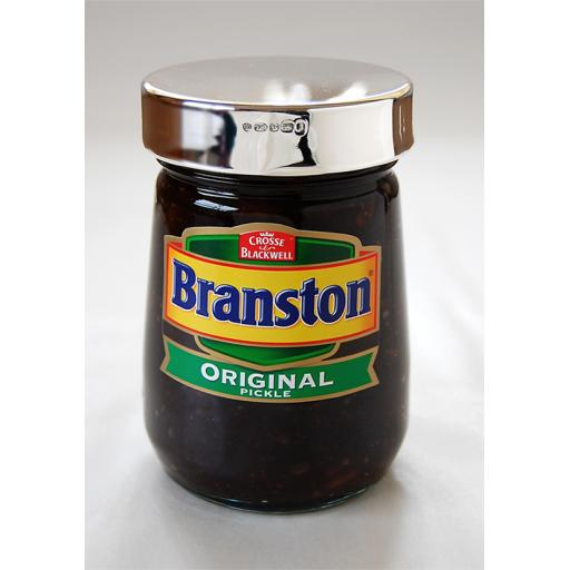 Silver Branston Pickle Lid