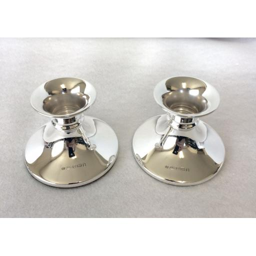 Mini Cabaret pair of Candlesticks
